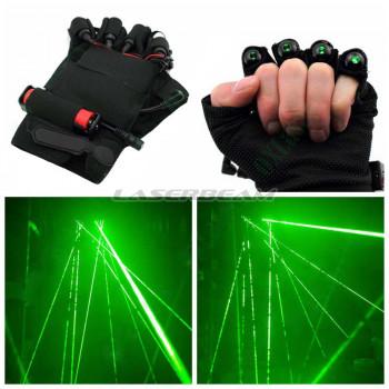 Зеленые лазерные перчатки Palm Light