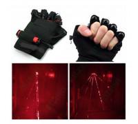 Красные лазерные перчатки Palm Light
