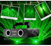 Зеленый двухлучевой лазер X360