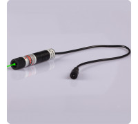 Зеленый лазерный модуль 100 мВт с фокусировкой (точка)