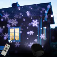 Новогодняя лазерная подсветка