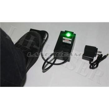 Зеленый ножной лазер
