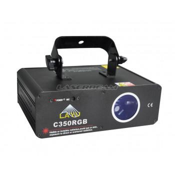 Трехцветный лучевой лазер C350RGB