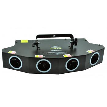 Многолучевой четырехцветный лазер D550RGBP