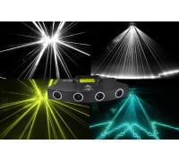 Многолучевой RGBW лазер D900W