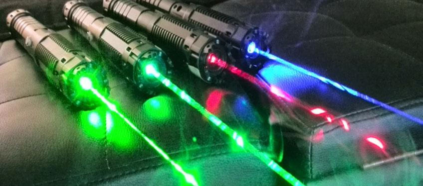 Мощные лазерные указки