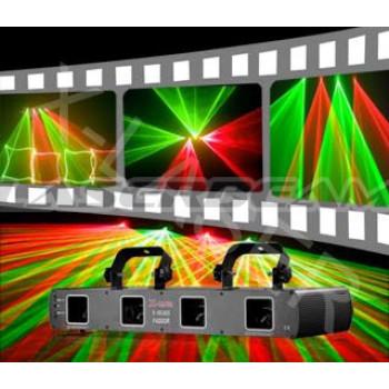Многолучевой двухцветный лазер D250RG