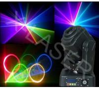 Лазерная вращающаяся голова RGB1200