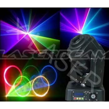 Лазерная вращающаяся голова RGB1800